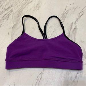 Lululemon Power Y Purple Sports Bra 2
